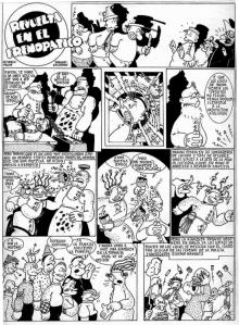 Makoki cómic (1977.06.24 en Disco Exprés)