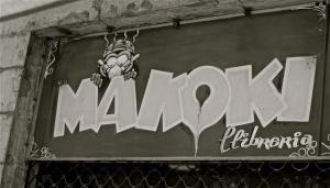 Makoki (rótulo de la librería)