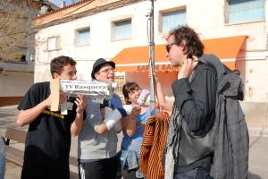 JC Bouso entrevistado por una imaginaria TV el dia del referendum de Rasquera
