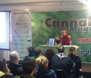 Conferenciando en Spannabis BCN