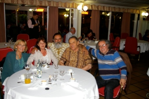 Christine Grof, Rosanna Zanarini, Oscar Ruiz, Stanislav Grof y Fernando Pardo, 2013. Madrid.