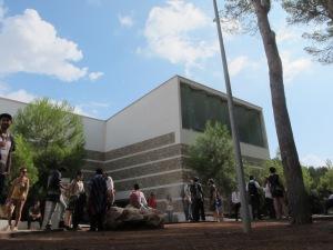 Palacio de Congresos de Santa Eulária del riu, donde se celebró la Conferencia.