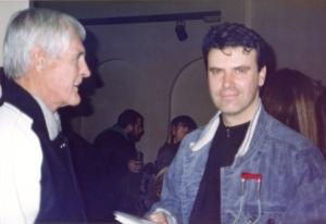 Timothy Leary y Montxo Algora