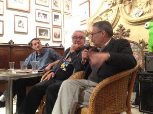 Demian, Fernando y Felipe