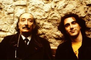 Dalí con Pau Riba