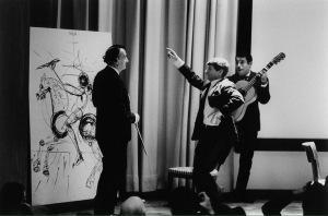 Salvador Dalí, Manitas de plata y bailaor desconocido