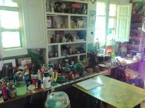 Vista parcial del taller estudio