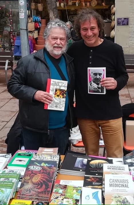 Richard Yensen y J. C. Bouso
